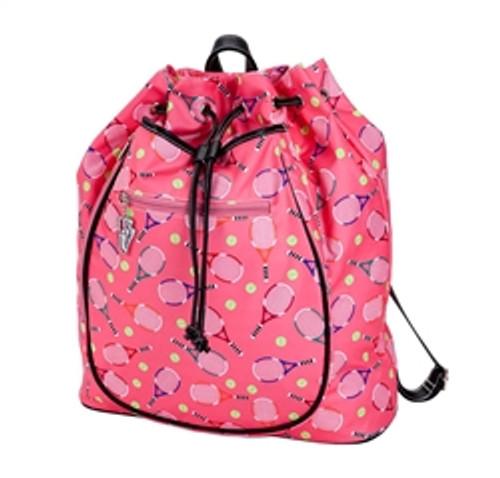 Sydney Love Serve It Up Tennis Backpack- Pink