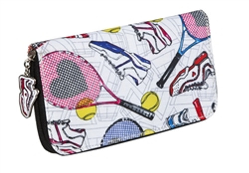 Sydney Love Tennis Everyone Zip Around Wallet