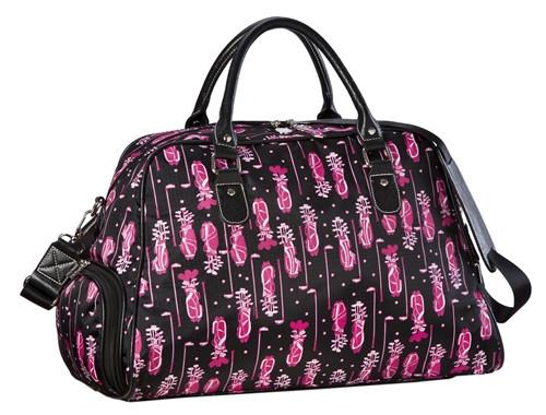 Sydney Love Fuchsia Golf Shoulder Shoe Bag