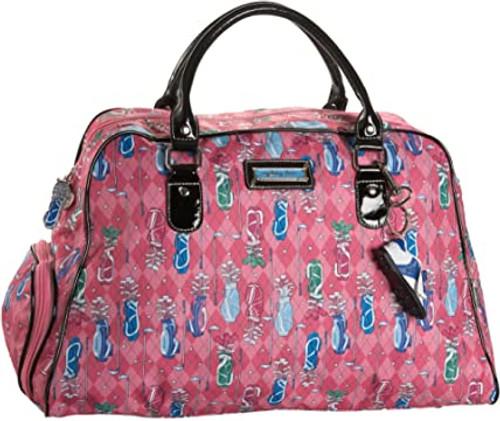 Sydney Love Pink Golf Shoulder Shoe Bag