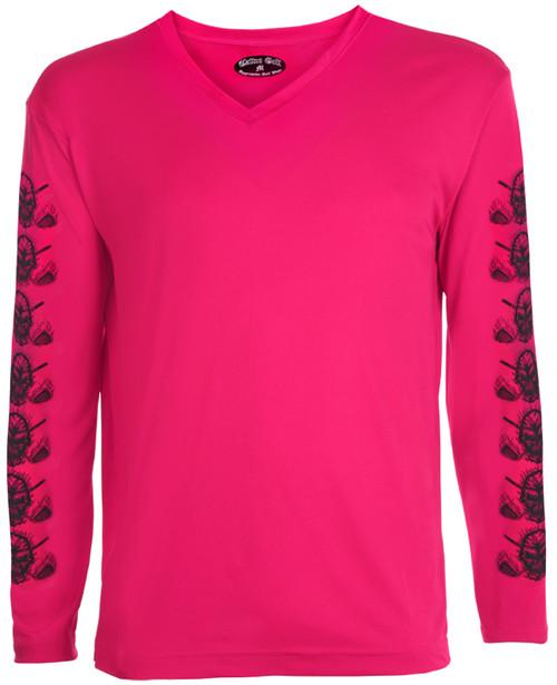 Tattoo Golf Women's Undershirt Long Sleeve (Pink)