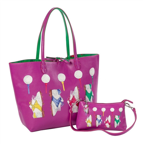 Sydney Love Nu Shooz Golf Reversible Tote with Inner Pouch