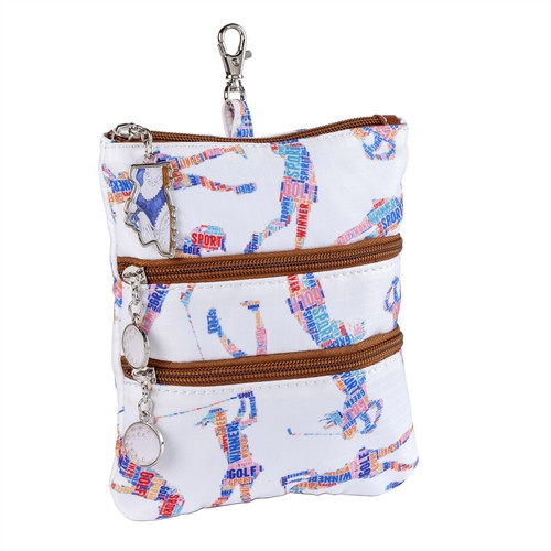 Sydney Love Words with Golf Friends Clip on Accessory Pouch
