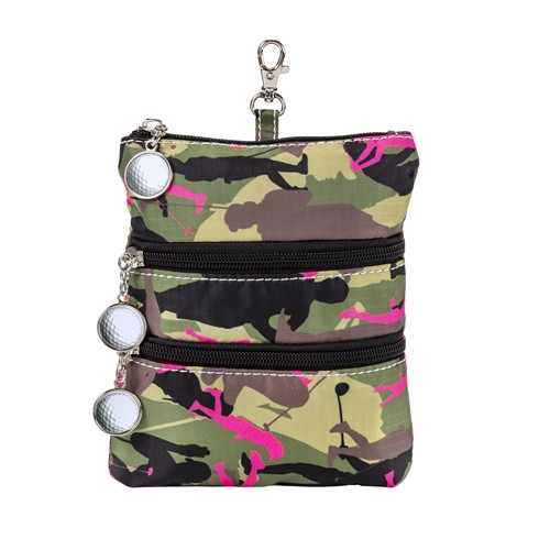 Sydney Love Olive Camouflage Clip On Accessory Pouch