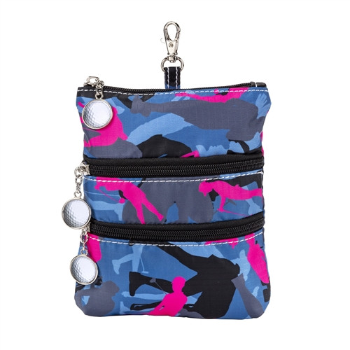 Sydney Love Blue Camouflage Clip On Accessory Pouch