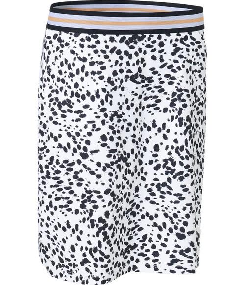 "Abacus Sportswear Women Anne Skort 17"" - Black and White"