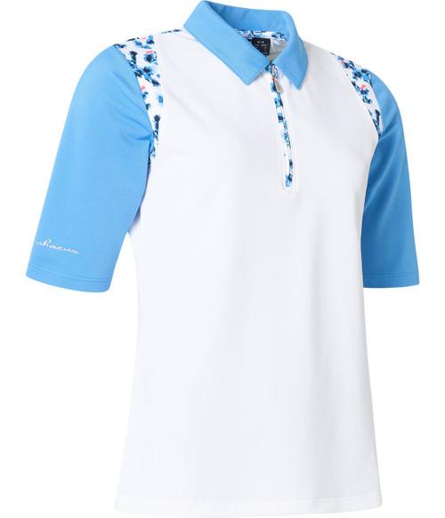 Abacus Sportswear Anne Polo Half Sleeve - Heaven