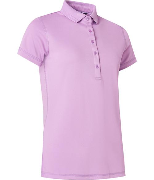Abacus Sportswear Clark Short Sleeve Polo Shirt -Lupine