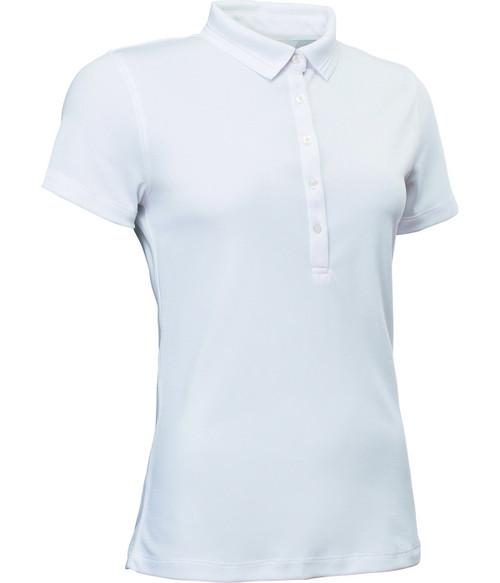 Abacus Sportswear Clark Short Sleeve Polo Shirt - White