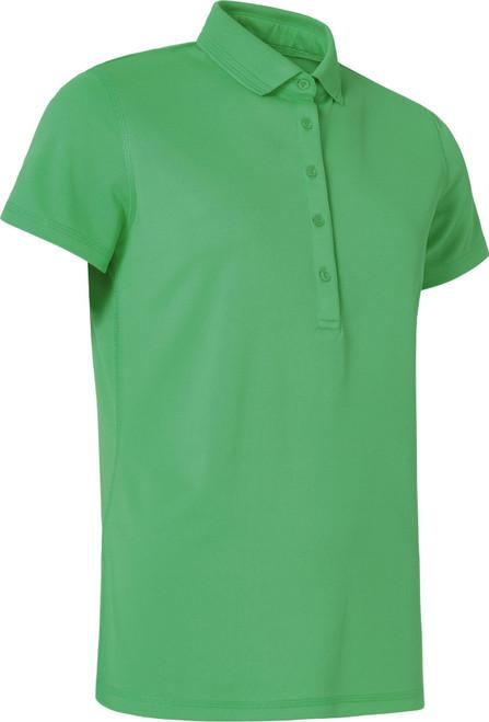 Abacus Sportswear Clark Short Sleeve Polo Shirt - Fairway