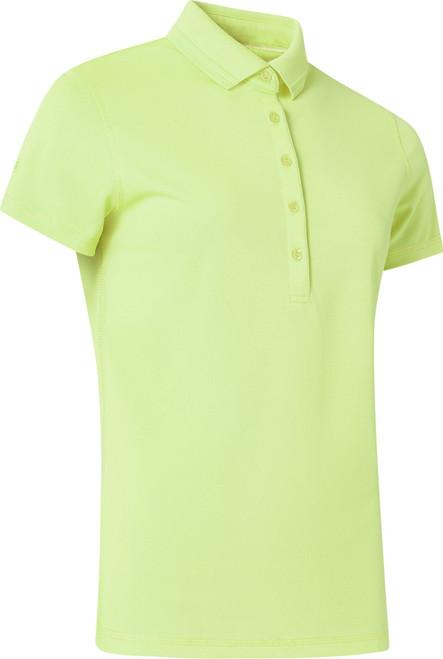 Abacus Sportswear Clark Short Sleeve Polo Shirt - Lime