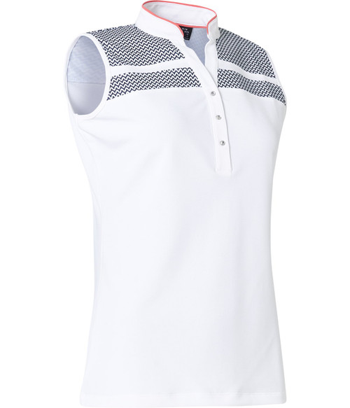 Abacus Sportswear Anne Sleeveless - Navy/White