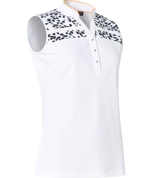 Abacus Sportswear Anne Sleeveless - Black and White