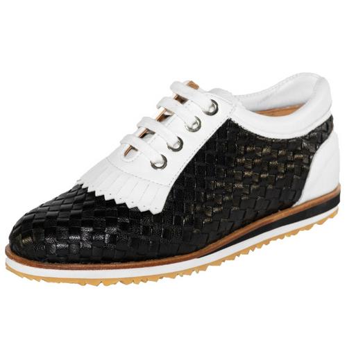 Nailed Golf Arco Black/White Golf Shoes