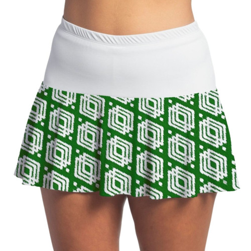 FestaSports Luck o the Green with White Flounce Skort