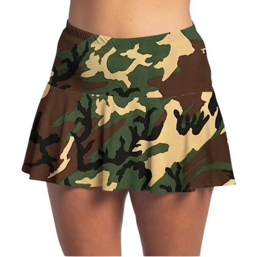 FestaSports Camouflage Flounce Skort