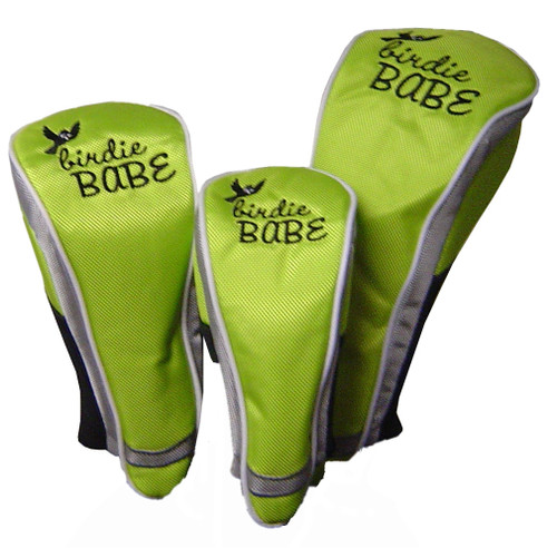 Birdie Babe Lime Green Club Cover Set