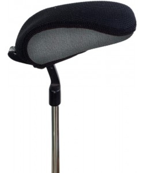 Stealth Silver Tweed Boot'e Putter Cover