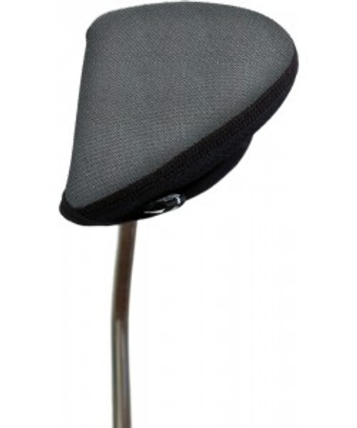 Stealth Silver Tweed Mallet Putter Cover