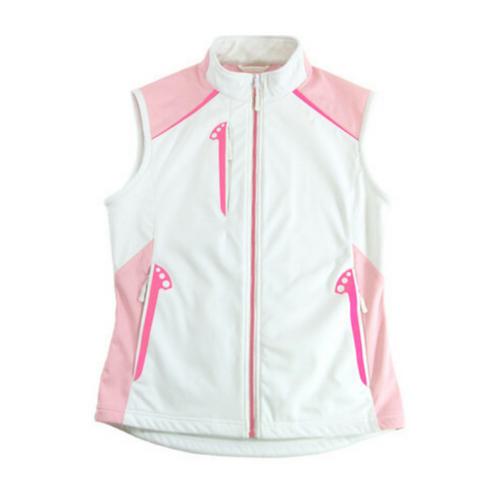Glen Echo Pink Ladies Stretch Tech Water Repellent Vest
