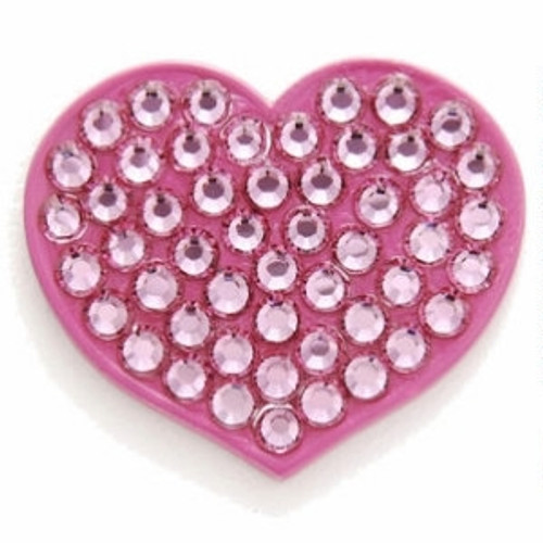 Bonjoc Passion Heart Swarovski Crystal Ball Marker