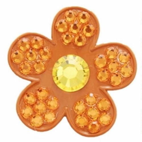 Bonjoc Paradise Flower Swarovski Crystal Ball Marker