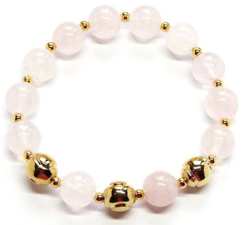 Sporty Chic Pink Quartz Tennis Bracelet
