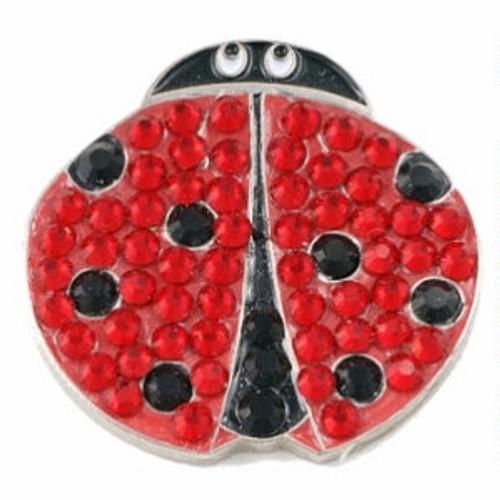Bonjoc Ladybug Swarovski Crystal Ball Marker