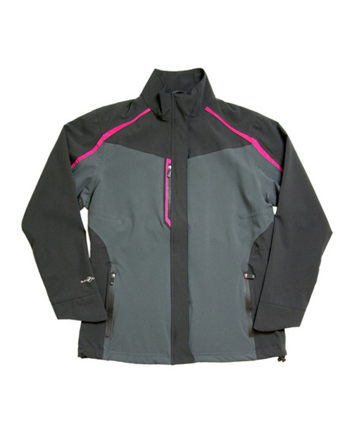 Glen Echo Charcoal Women's Flagship Stretch Tech Rain Jacket