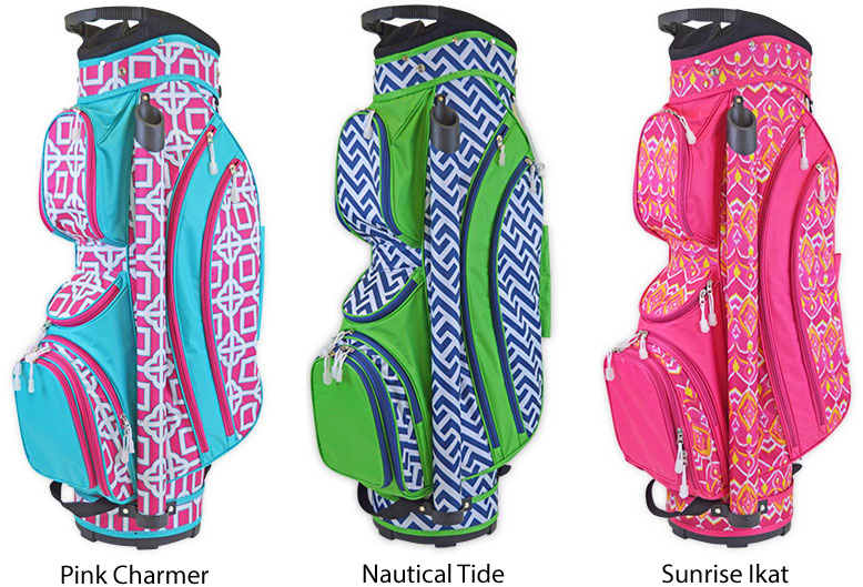 New Ladies Golf Bags by All For Color - Pink Golf Tees
