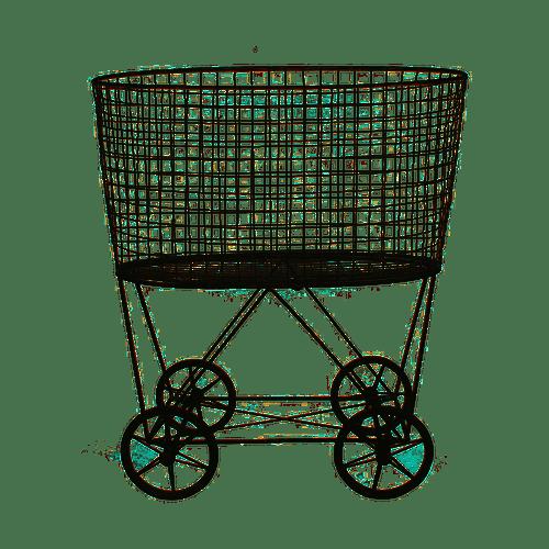 Metal Vintage Laundry Basket