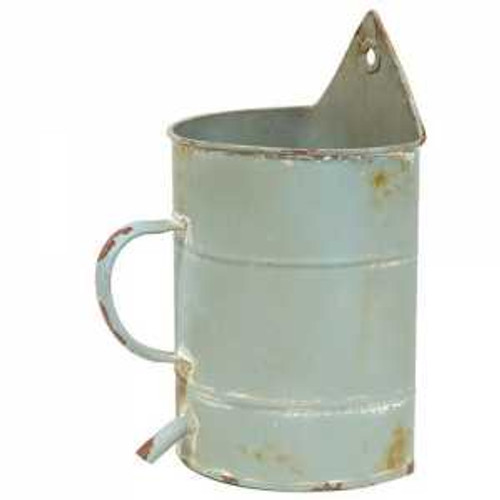 Rustic Blue Watering Can Holder