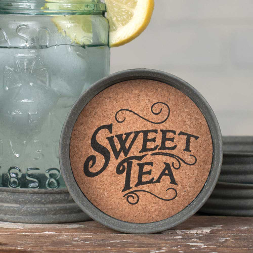 Mason Jar Coaster - Sweet Tea