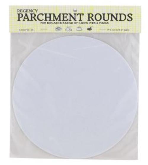 """Parchment Rounds - 9"""""""