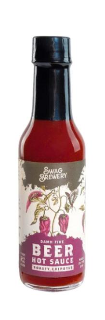 Beer Hot Sauce - Roasty Chipotle