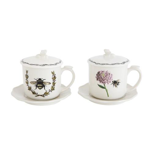 Tea with Strainer - Flower