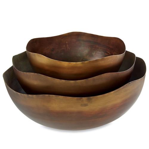 Nested Copper Bowl Set