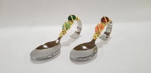 Jewel Bent Handled Spoon