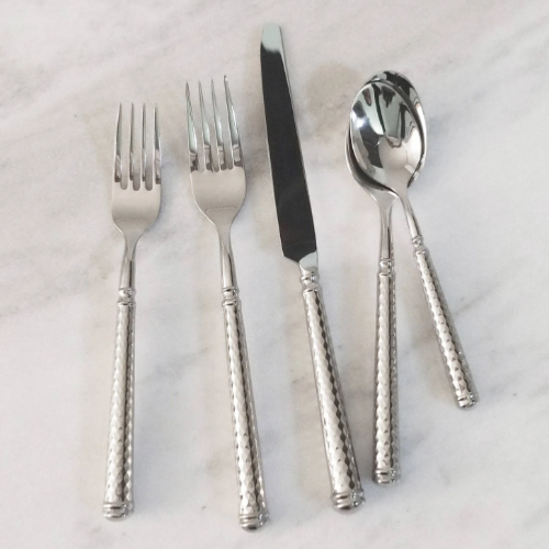 Solitaire Hollow Handle 5pc Place Setting