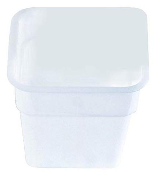 Square White Container- 4 qt