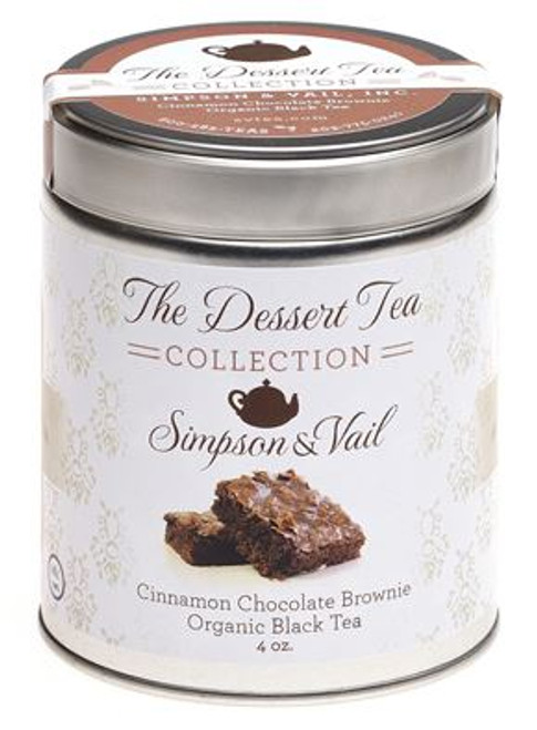 Organic Cinnamon Chocolate Brownie Black Tea