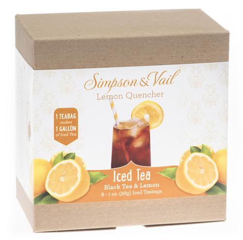 Lemon Quencher Black Iced Tea Bags