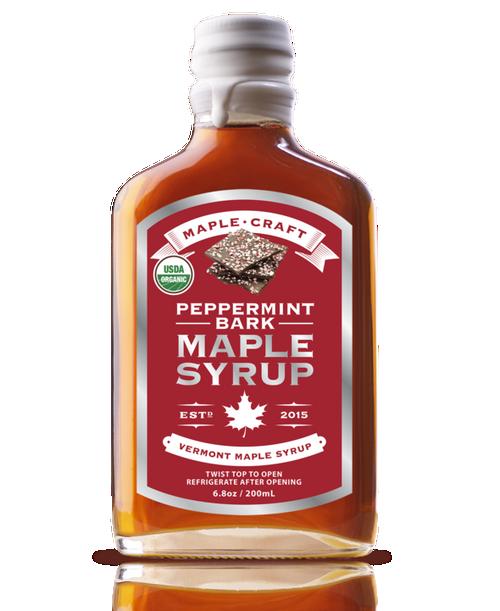 Maple Syrup - Peppermint Bark