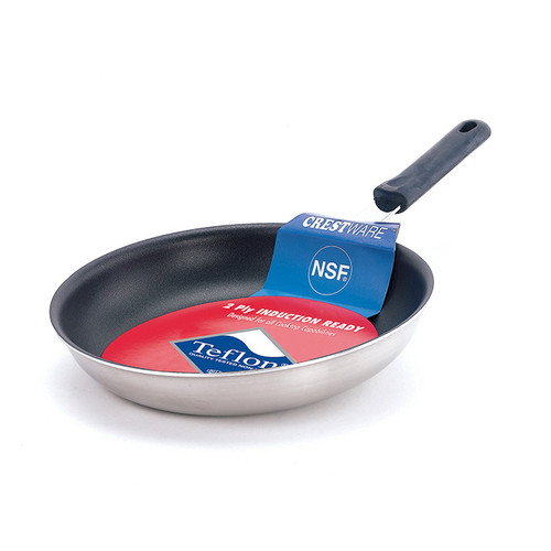 "Coated Induc Fry Pan- 10 3/8"""