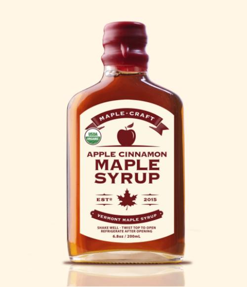 Maple Syrup - Apple Cinnamon