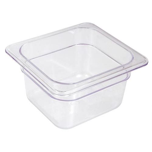 Polycarbonate Food Pan- Sixth x 2.5