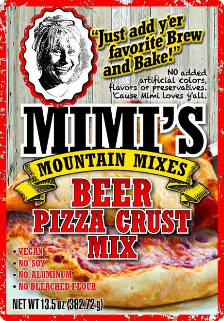 Beer Pizza Crust Mix