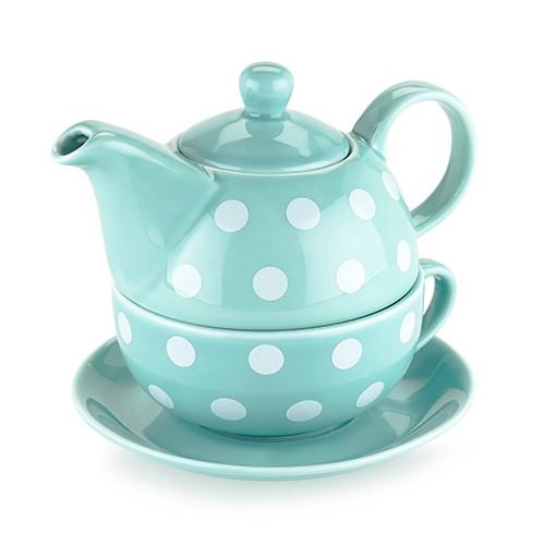 Addison Polka Dot Tea for One