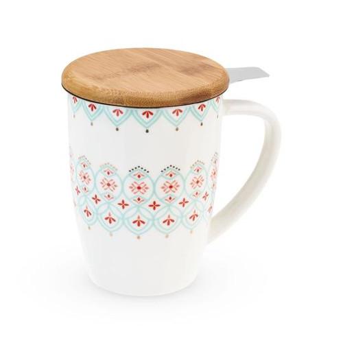 Bailey Arabesque Mug w/Infuser