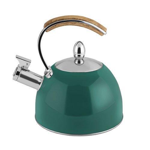 Presley Tea Kettle- Dark Green